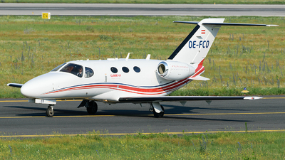 OE-FCO - Cessna 510 Citation Mustang - GlobeAir