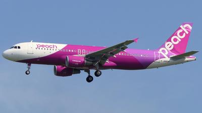 JA821P - Airbus A320-214 - Peach Aviation