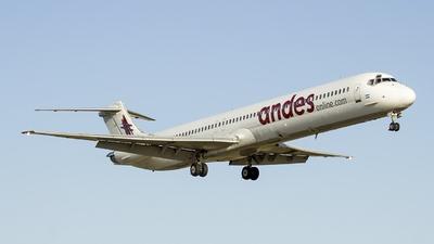 LV-CCJ - McDonnell Douglas MD-83 - Andes Líneas Aéreas