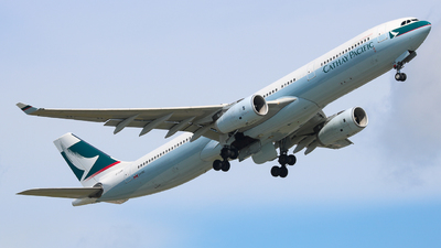 B-LBK - Airbus A330-343 - Cathay Pacific Airways