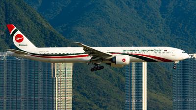 S2-AHM - Boeing 777-3E9ER - Biman Bangladesh Airlines