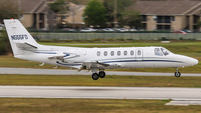 N555FD - Cessna 560 Citation V - Private