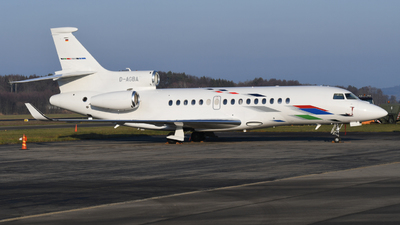 D-AGBA - Dassault Falcon 8X - VW Air Services