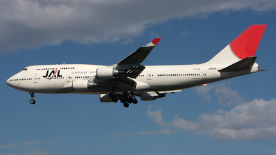 JA8914 - Boeing 747-446 - Japan Airlines (JAL)