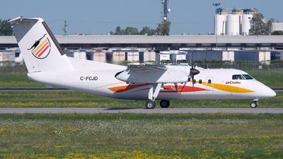 A picture of CFCJD - De Havilland Canada Dash 8100 - Air Creebec - © PAUL LINK