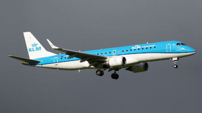 PH-EZM - Embraer 190-100STD - KLM Cityhopper