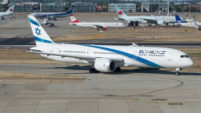 4X-EDA - Boeing 787-9 Dreamliner - El Al Israel Airlines