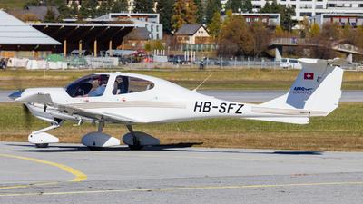HB-SFZ - Diamond DA-40 Diamond Star - Aero Locarno