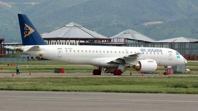 A picture of P4KHD - Embraer E190E2 - Air Astana - © Frolov Sergey