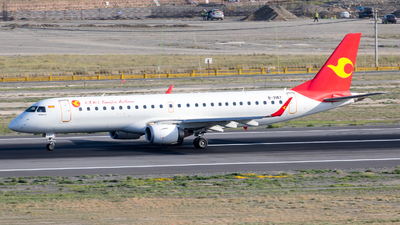 B-3167 - Embraer 190-100LR - Tianjin Airlines
