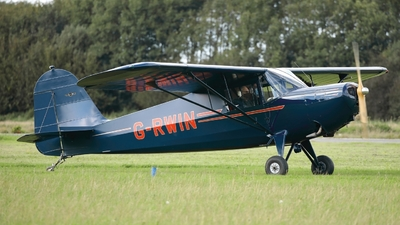 G-RWIN - Rearwin 6000C Speedster - Private