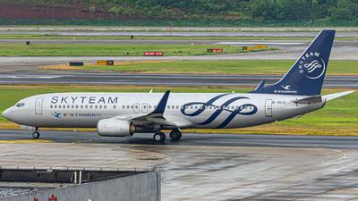 A picture of B5633 - Boeing 73785C - Xiamen Air - © Sail Xu