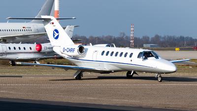A picture of DCHRF - Cessna 525B CitationJet CJ3 - Hahn Air - © Chris de Breun