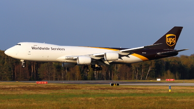 A picture of N612UP - Boeing 7478F - UPS - © Marcel Schmidt