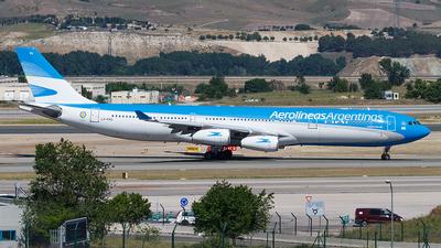 LV-FPU - Airbus A340-313X - Aerolíneas Argentinas