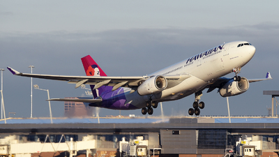 A picture of N399HA - Airbus A330243 - Hawaiian Airlines - ©  JC