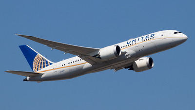 A picture of N27901 - Boeing 7878 Dreamliner - United Airlines - © Fabian Behr