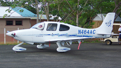 N464AC - Cirrus SR20 - Private