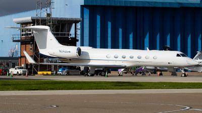 A picture of N242GM - Gulfstream G550 - [5123] - © Zach ldn_avphoto