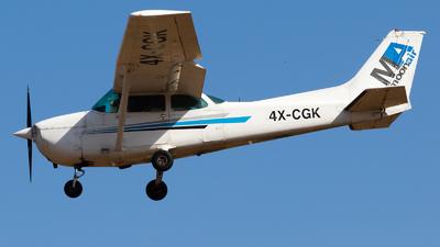 A picture of 4XCGK - Cessna 172 Skyhawk - [17274853] - © Eyal Zarrad