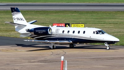 G-SKAL - Cessna 560XL Citation XLS+ - Private