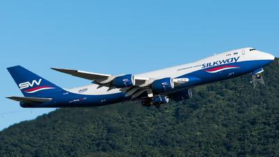 VQ-BBM - Boeing 747-83QF - Silk Way West Airlines
