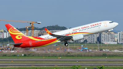 A picture of B7400 - Boeing 73786N - Hainan Airlines - © BCG554