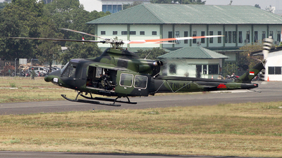 HA-5165 - Bell 412EP - Indonesia - Army