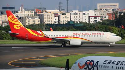B-5417 - Boeing 737-86N - Hainan Airlines