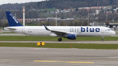 AP-BMW - Airbus A321-211 - AirBlue