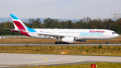 D-AIKH - Airbus A330-343 - Eurowings Discover