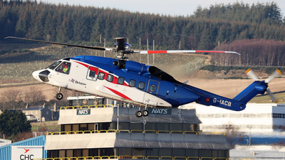 A picture of GIACB - Sikorsky S92A Helibus - Bristow Helicopters - © R.Rimestad