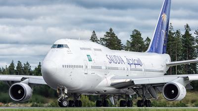 TF-AAK - Boeing 747-428 - Saudi Arabian Airlines (Air Atlanta Icelandic)