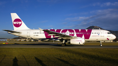 LZ-MDD - Airbus A320-232 - WOW Air
