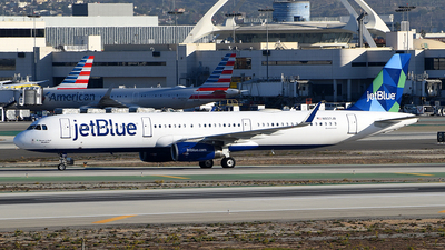A picture of N937JB - Airbus A321231 - JetBlue Airways - © Rocky Wang