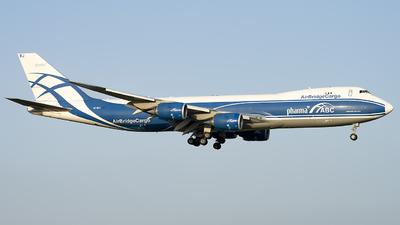 A picture of VQBRJ - Boeing 7478HV(F) - AirBridgeCargo Airlines - © wanglp1988