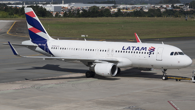 A picture of PRTYH - Airbus A320214 - LATAM Airlines - © Rafael Ferreira
