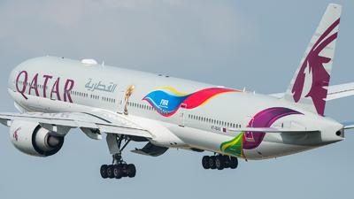 A picture of A7BAX - Boeing 7773DZ(ER) - Qatar Airways - © Jean-Baptiste Rouer