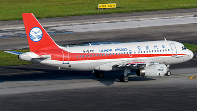 A picture of B6410 - Airbus A319133 - Sichuan Airlines - © Mr.Huang