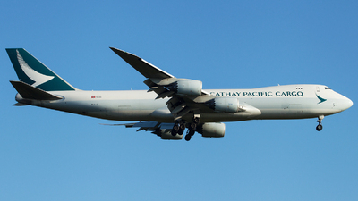 A picture of BLJI - Boeing 747867(F) - Cathay Pacific - © Alexander Schürmann