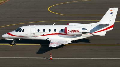 A picture of DCBEN - Cessna 560XL Citation XLS+ - [5606089] - © Marcel Schmidt