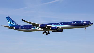 4K-AI08 - Airbus A340-642ACJ - AZAL Azerbaijan Airlines