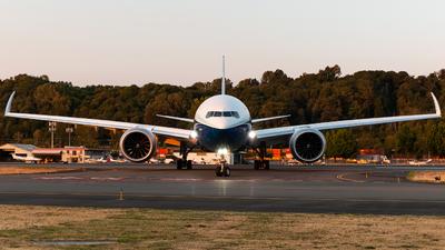 N779XW - Boeing 777-9 - Boeing Company