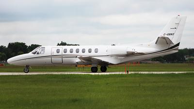 C-GBNX - Cessna 560 Citation V - Canada - Manitoba Government Air Services