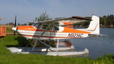 A picture of N9214C - Cessna 180 - [31313] - © Giuseppe Battioli