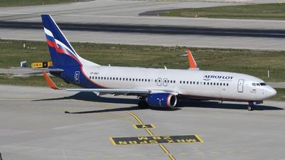 A picture of VPBKF - Boeing 7378MC - Aeroflot - © Sven Stephan