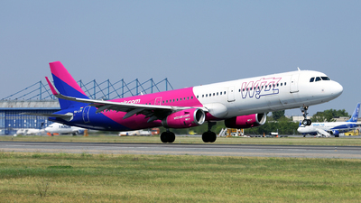 HA-LXV - Airbus A321-231 - Wizz Air
