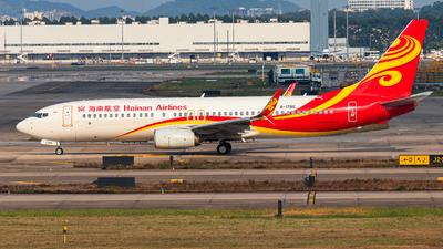 B-1786 - Boeing 737-84P - Hainan Airlines
