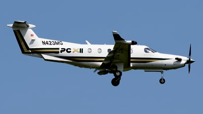 N423MG - Pilatus PC-12 NGX - Private