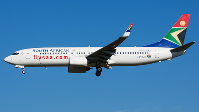 ZS-SJS - Boeing 737-844 - South African Airways